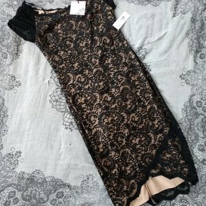Lace with lining dress